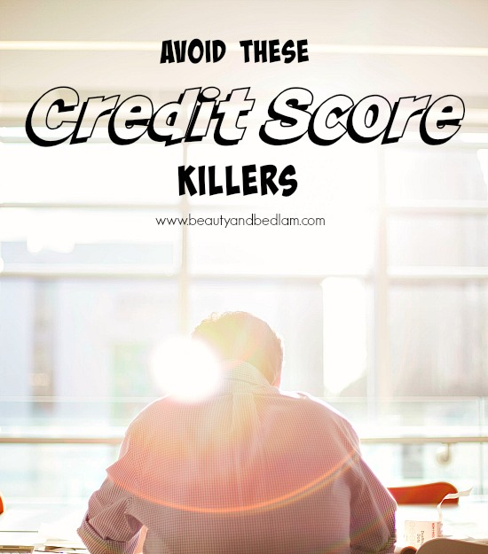 What Our Eldest is Learning about Credit Score Killers