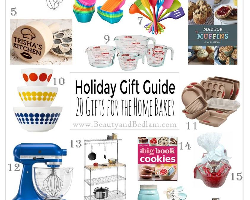 20 Favorite Gift Ideas for Home Bakers