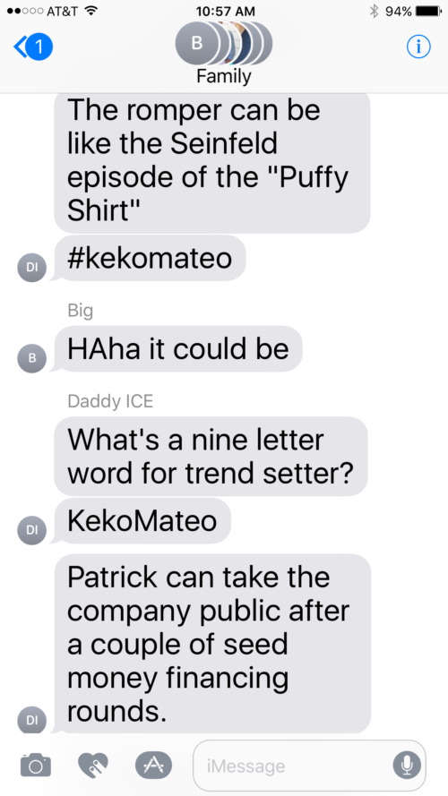 family group chat