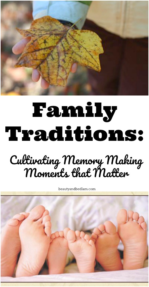 Creating a legacy of strong family traditions encourages unity and togetherness. Simple and easy to do, avoid stress and enjoy your family.