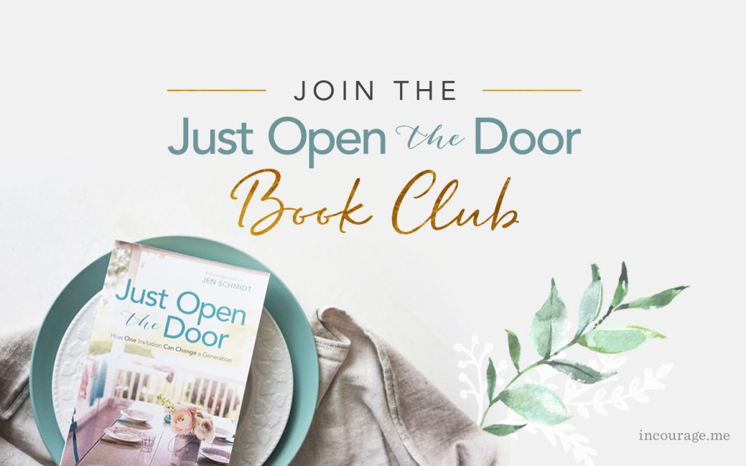 Join the (Free) Just Open the Door Book Club