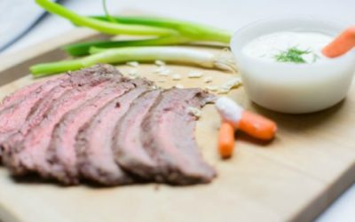 Garlic Flank Steak Recipe