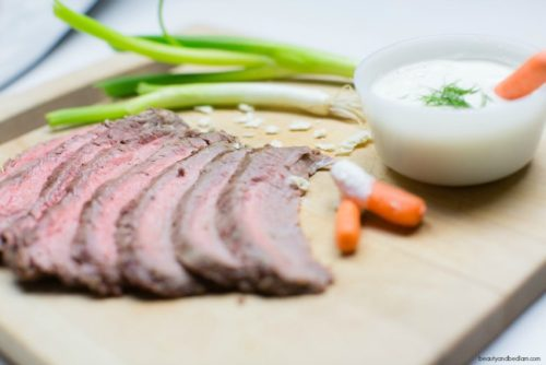 Garlic Flank Steak Recipe