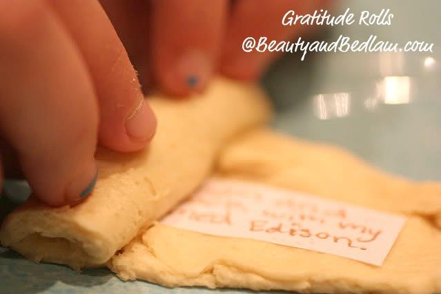Gratitude Rolls: Special Thanksgiving Tradition