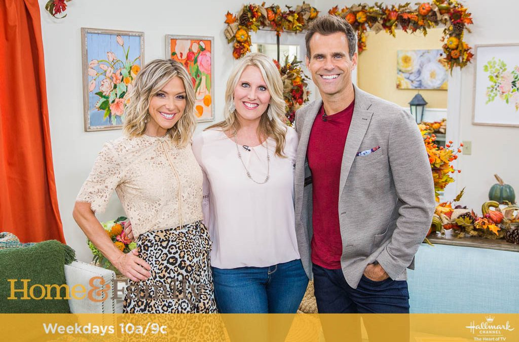 My Time on Hallmark's Home & Family TV Show